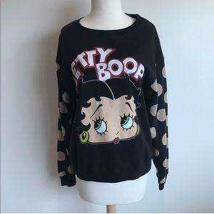 Betty Boop x Forever 21 Sweatshirt
